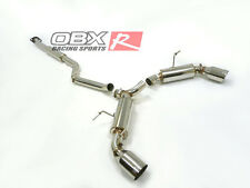 "OBX Racing Catback Exhaust Scion FR-S / Toyota GT-86 / Subaru BRZ 13+  4"" Tips"