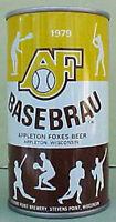ALGONA 125TH ANNIVERSARY BEER Pull Tab CAN August Schell MINNESOTA 1979 IOWA 1+