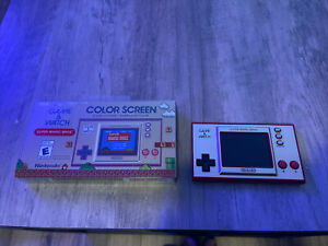 Super Mario Bros Game & Watch Nintendo 35th Anniversary Game and Watch