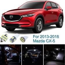 5pcs White Interior LED Light Package Kit For 2013-2016 2017 2018 Mazda CX-5