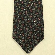 vintage CHRISTIAN DIOR paisley silk tie made in the USA width 3.50""