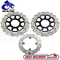 Front Rear Brake Disc Rotors for Honda CBR 1000 RR CBR1000RR RR6 RR7 SC57 06 07