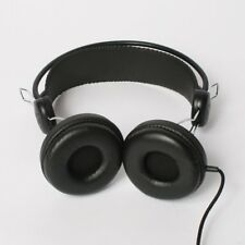 Brand New Eskuche 33 1/3 MATTE-BLACK  Classic Style Ear POWERFUL Headphone @Syd