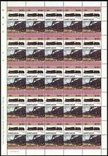 1919 MR Lickey Incline BIG BERTHA Train 50-Stamp Sheet (Leaders of the World)