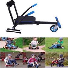 """Adjustable Hover Kart SEAT 6.5"""" 8"""" 10"""" Two Wheel Balance Scooter Go-kart ON SALE"""