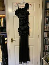 Adrianna Papell, black, full length gown, size XS