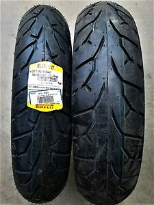 PIRELLI NIGHT DRAGON 130/90-16 FRONT/REAR TIRE SET HARLEY TOURING SOFTAIL INDIAN