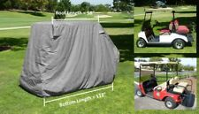"""Golf cart 4 passenger with 2 seater roof up to 58"""" in Grey"""