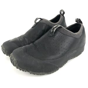 Merrell Moc Shoes Men's Size 8.5 Leather Slip On Walking Black Pre-owned GUC