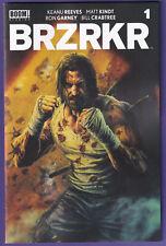 🔥🔥 Brzrkr #1 (Boom,2021) 1:25 Bermejo Variant Keanu Reeve 🔥🔥 Actual Scans!