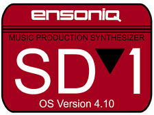 Ensoniq SD1 Operating System Disk v4.10 Sequencer OS - SD-1 FASTEST SHIPPING!