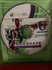 Your Shape: Fitness Evolved 2012 (Microsoft Xbox 360, 2011) Only Disc