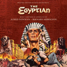 The Egyptian - 2 x CD Expanded Score - Limited 1500 - Bernard Herrmann