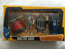 Dr who  Kurts alder dalek cyberman sonic tardis and sign hanging xmas ornaments