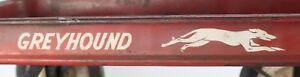 "DECAL SET for GREYHOUND Coaster Wagon, White, Adhesive Backed 24"" x 2-1/8"" CW118"