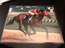 ANGEL CORDERO Signed 8x10 Photo w/ COA Autograph HORSE RACING JOCKEY AUTO
