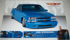 1999 Chevrolet S-10  Pickup truck print (modified, blue)