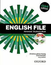 Oxford ENGLISH FILE Advanced THIRD EDITION Student's Book w iTutor DVD-ROM @New@