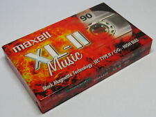 More details for maxell xl-ii music type ii 90 minute audio cassette sealed brand new