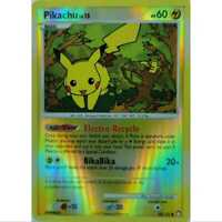 Pikachu 94/123 Reverse Holo - Mysterious Treasures -  Englisch NM