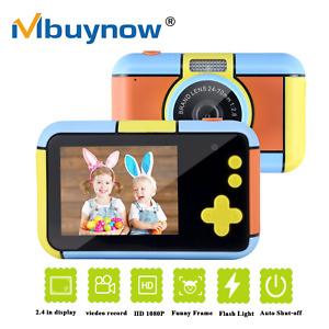 1080p Kinder Digitale Kamera mit 32GB TF Spielzeug Geburtstags Geschenk