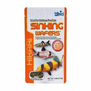 Hikari Sinking Wafers 110g Tropical Catfish & Loaches Sinking Wafer Disc Food