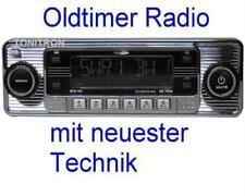 "Retro Look Radio""altes Autoradio""chrom Oldtimer Mercedes Benz W114 W115 /8"