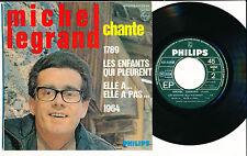 """MICHEL LEGRAND EP 7"""" FRANCE MICHEL LEGRAND CHANTE"""