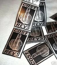 COST & REVS ORIGINAL 1993 FINGER STICKERS STREET ART GRAFFITI BANKSY TWIST RARE
