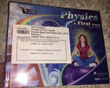Physics, a First Course, FL Ed & Investigations NEW by Tom Hsu