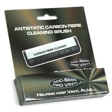 Vinilo Disco de fibra de carbono Antiestático Cepillo Cepillo de limpieza por Acc-Sees