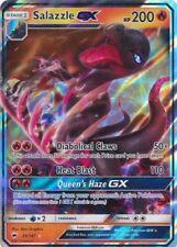 Pokemon: 1x Salazzle-Gx - 25/147 - Ultra Rare - Nm-Mint Sm Burning Shadows
