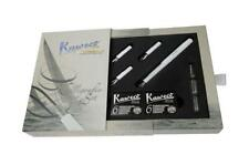 Kaweco Classic Fountain Pen Sport Calligraphy Set White with CLIP