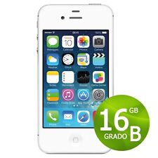APPLE IPHONE 4S 16 GB BLANCO+ACCESORIOS + GARANTÍA 12 MESES REACONDICIONADOS 4 S