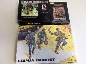 1/35 Verlinden Warriors Zvezda German SS Army Figures Soldiers Custom Dioramics
