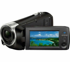 Sony HDR-PJ410 9.2 MP Full HD 30x Optical Zoom Camcorder - Black (MISSING CABLE)
