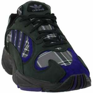 adidas Yung-1 Lace Up  Mens  Sneakers Shoes Casual   - Black