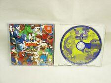 MARVEL VS CAPCOM CLASH OF SUPER HEROES Dreamcast Sega Import Japan Game dc