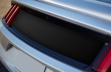 2015 2016 2017 Ford Mustang MATTE BLACK Decklid Panel BLANK Trunk BLACKOUT Decal