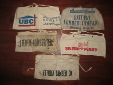 84 LUMBER NAIL POUCH APRON Tools  New Old Stock 50th Years