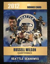 2012 Russell Wilson Rookie Card Rookie Phenoms Limited Edition