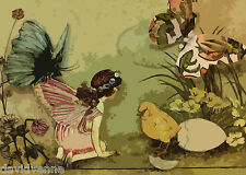 Butterfly Fairy Chick by Therese Venne 9x12 on Zweigart Needlepoint Canvas