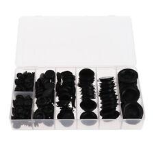 170pcs Rubber Grommet Eyelet Ring Gasket Assortment for Automotive Plumbing