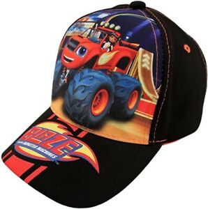 NWT Nickelodeon Boys Blaze and The Monster Machines Cotton Baseball Cap Ages 2-4