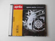 Aprillia CD catálogo de piezas de repuesto versión 21 2002 Reparación Manual