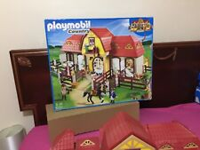 Playmobil Country 5221: Large Horse Farm with Paddock, Figures, Accessories