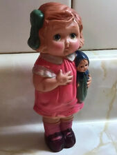Vintage Large Celluloid Hollow Doll Figure Baby Doll