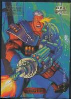 1994 Marvel Masterpieces Gold Signature Trading Card #17 Cable