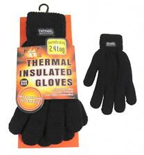 Mens Womens Heat Control Thermal Warmth Insulated Winter Gloves 2.4 Tog One Size