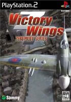 PS2 ​​Victory Wings - zero pilot Series PlayStation 2 Japan F/S